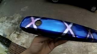 cara mengecat blue xxx