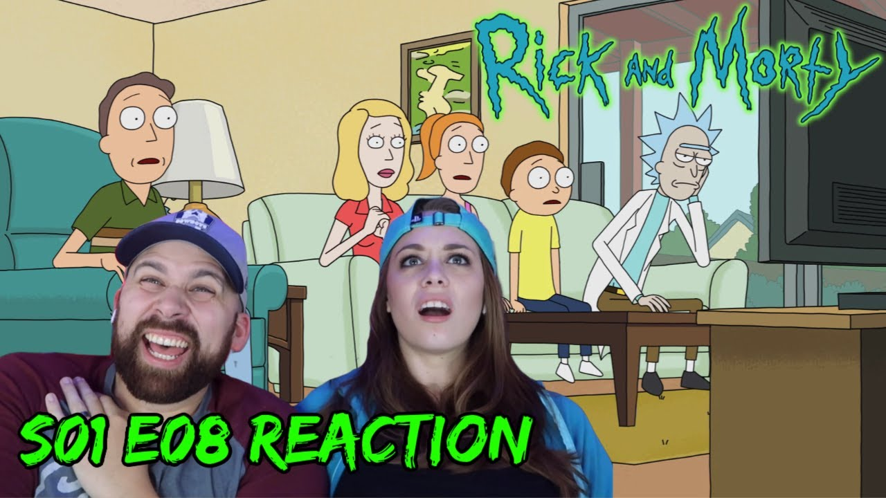 """Download Rick and Morty S01 E08 """"Rixty Minutes"""" - REACTIONS ON THE ROCKS!"""