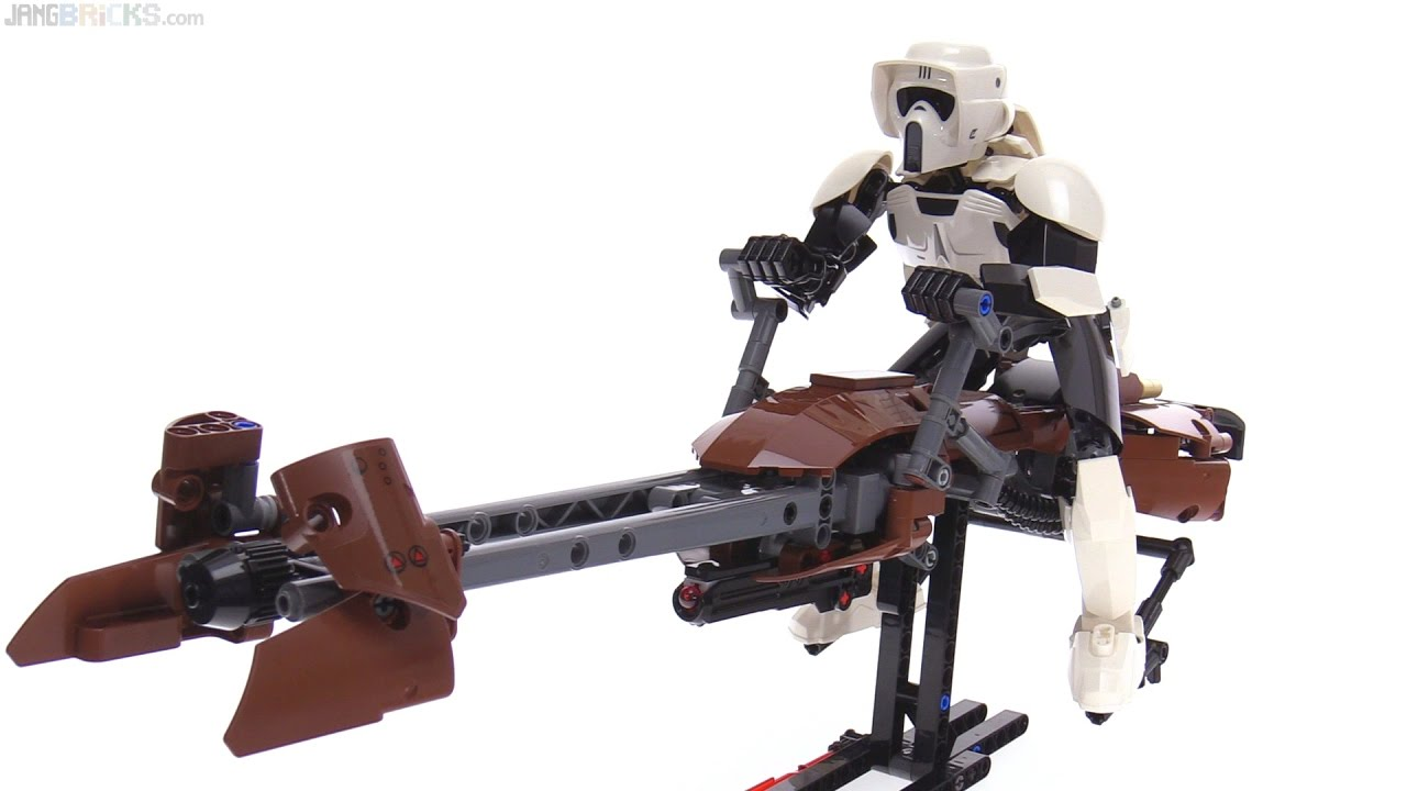 How To Build A Lego Speeder Bike