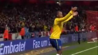 Brasil [2-0] Ireland International Friendly Highlights and goals [03-02-2010]