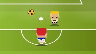 Удар в квадрате (Blocky Kick) // Геймплей