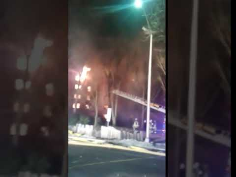 INFERNO (VIDEO): Blaze Burns Through Fort Lee Apartment Complex, 3 Firefighters Injured