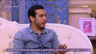 السفيرة عزيزة - الشماس / مينا عاطف... يحكي كيف حصل على مركز أول جمهورية في الإنشاد الديني