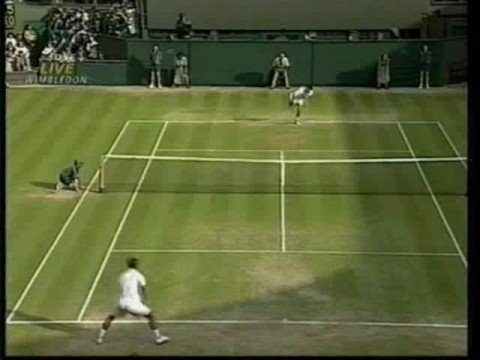 Tim Henman's passing shots *masterpiece*