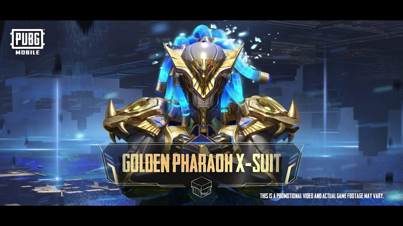 Hadirnya Golden Pharaoh X Suit di PUBG MOBILE