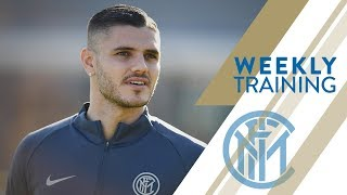 INTER WEEKLY TRAINING | Mauro Icardi is back with the team thumbnail
