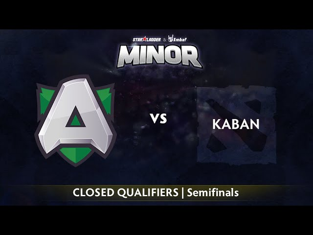 Alliance vs Kaban Game 2 - StarLadder ImbaTV EU Qualifier: Semifinals