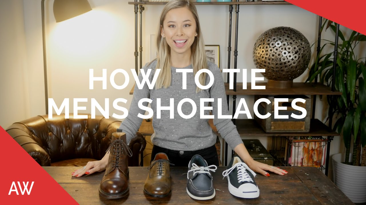 93e5cc1be43 How To Tie Mens Shoelaces - Boots
