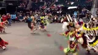 Manito Ahbee 2015 Bobby Badger all junior boys special, my boy dancing fancy in there