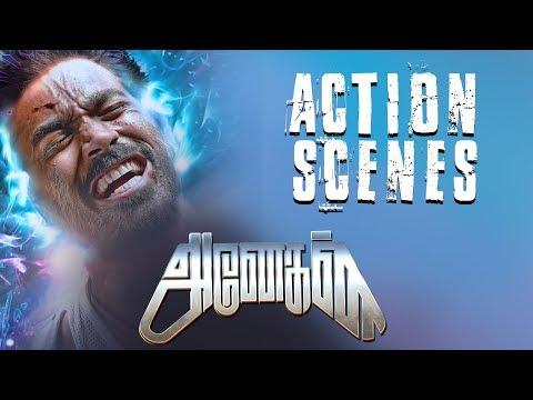 Anegan - Tamil Movie - Action Scenes | Dhanush | Karthik | Amyra Dastur | Harris Jayaraj