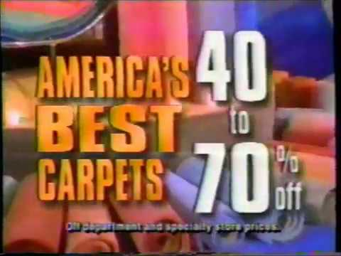 New York Carpet World Commercial 1993