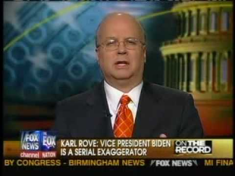 Karl Rove Slams Joe Biden On Meeting With Bush