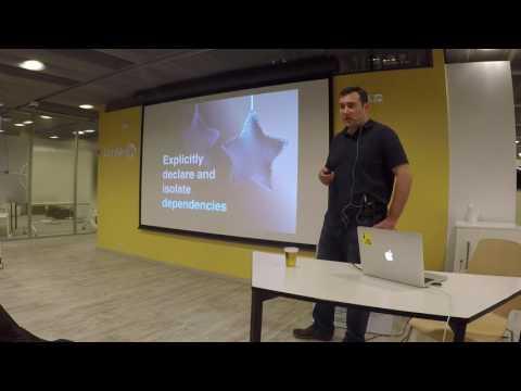 CorpJS Meetup Budapest - Stephen Cresswell -  Enterprise Grade Microservices