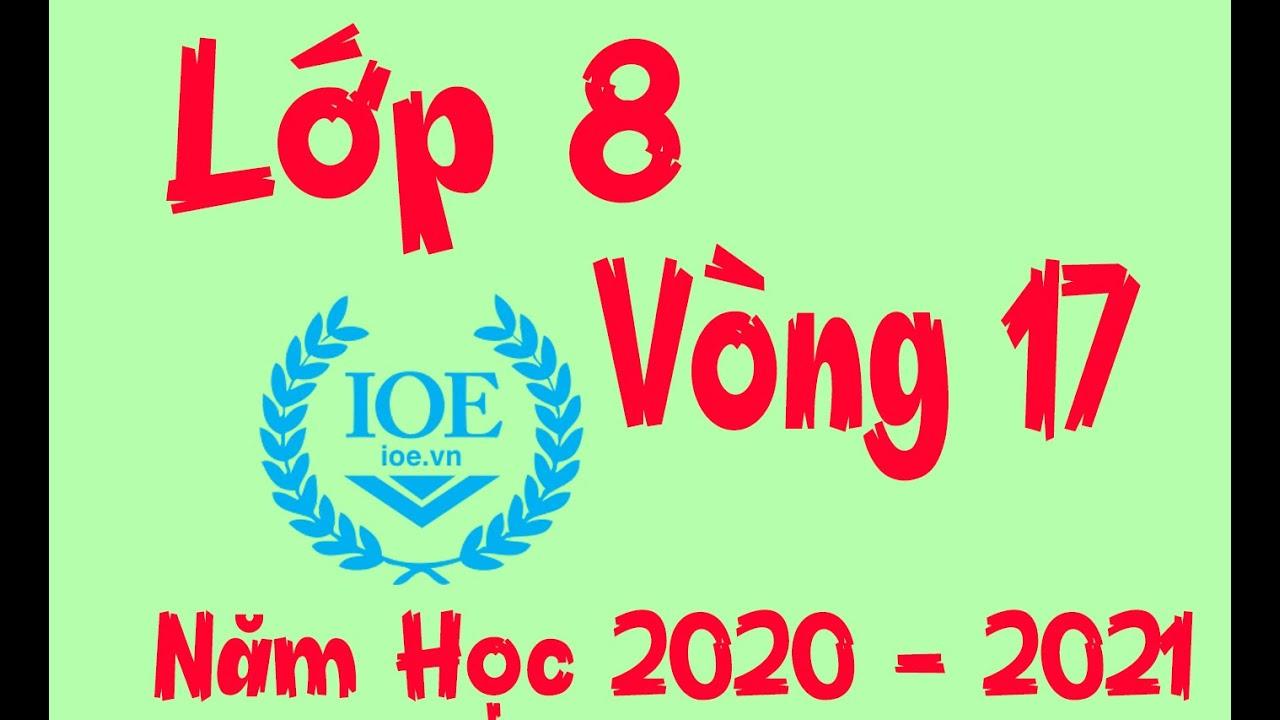 Đáp Án IOE Lớp 8 Vòng 17 Năm Học 2020 – 2021