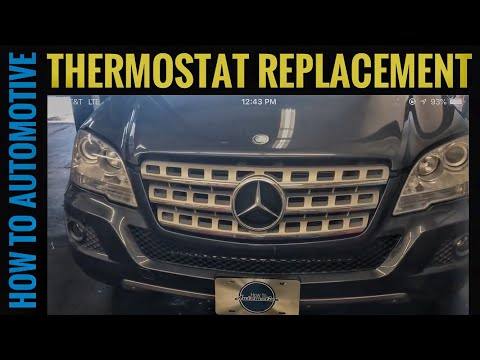 how-to-replace-the-thermostat-on-a-2005-2011-mercedes-ml350-w164