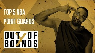 Gilbert Arenas Talks About the Current Top 5 NBA Point Guards | Out Of Bounds