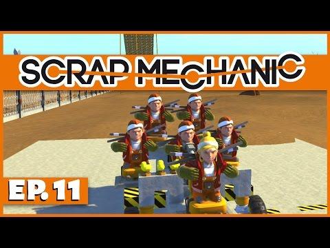 Scrap Mechanic - Ep. 11 - The Great Multiplayer Race! - Let's Play Scrap Mechanic Gameplay