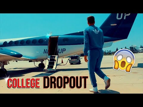 i'm a college dropout because of you (living a dream)