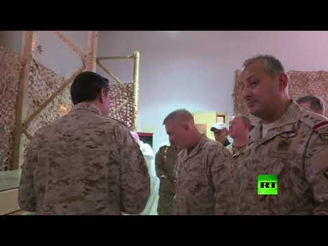 رئيس القيادة المركزية الأمريكية يعاين صواريخ الحوثيين في الخرج السعودية