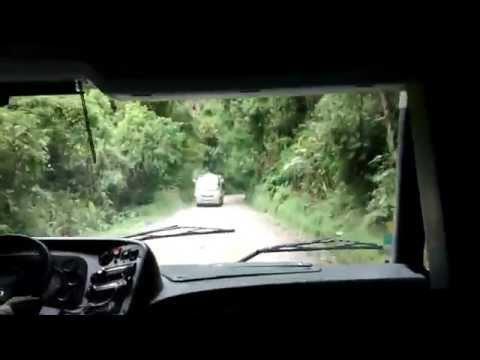 Drive down Machu Picchu Bus