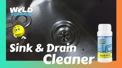 How To Unclog Kitchen Sink | Wild Tornado Sink and Drain Cleaner | Right Way