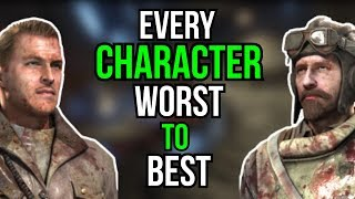 EVERY CHARACTER RANKED WORST TO BEST (COD ZOMBIES)