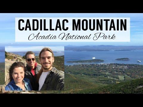 Cadillac Mountain Acadia National Park - Maine Travel