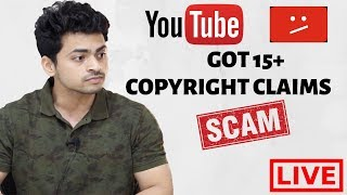 Got 15+ Copyright Claims !!!!!