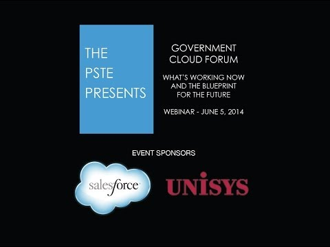 Webinar - Government Cloud What's Working Now and the Blueprint for the Future