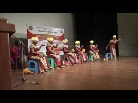 Ghana Dance Ensemble performs at the Cocoa Educational Forum