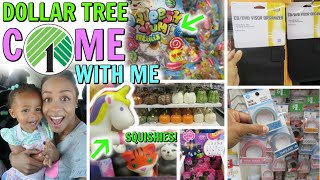 COME WITH ME TO DOLLAR TREE! A SQUISHY JACKPOT! PLUS MORE NEW ITEMS!