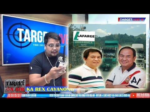 Trust  fund mula sa Trucker ng Lafarge pra sa Social Service sa Angono, Rizal