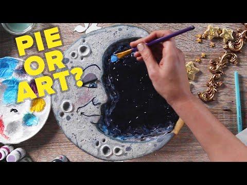 I Make Beautiful Pie Art For A Living