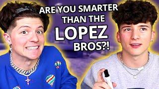 High School Trivia ft. The Lopez Brothers | VS w/ Tony & Ondreaz Lopez