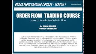 Order Flow Trading Course Learn Order Flow Trading Strategy And Analysis