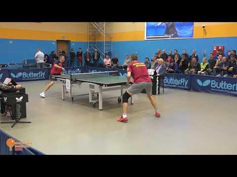 М. Шмырев (Москва) - Е. Регентов (Оренбург), матч за первое место,  40+