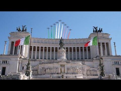 La giornata delle Frecce Tricolori, dal decollo al sorvolo dell'altare della Patria