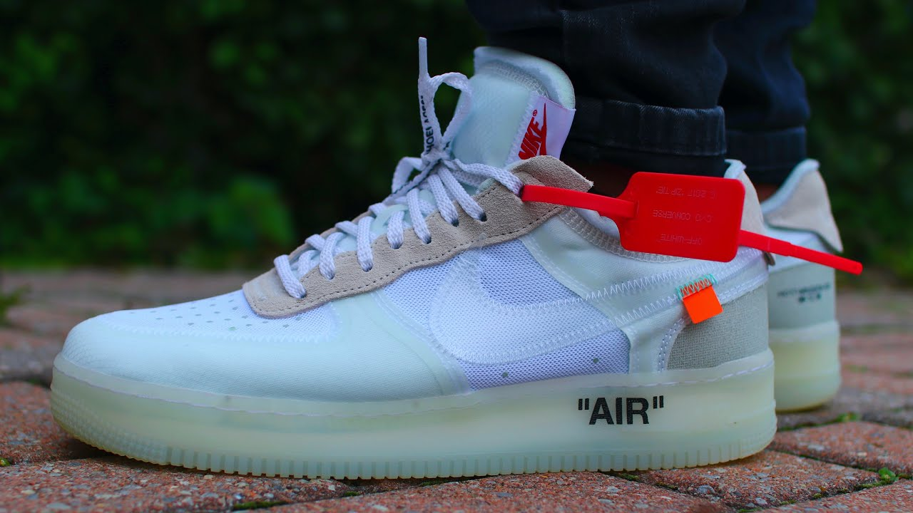 OFF-WHITE NIKE AIR FORCE 1 UNBOXING