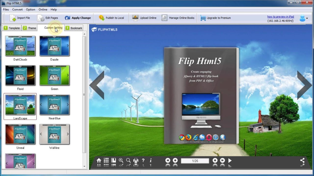 How to publish a HTML5 flipbook online without hosting a website? - Flip  HTML5