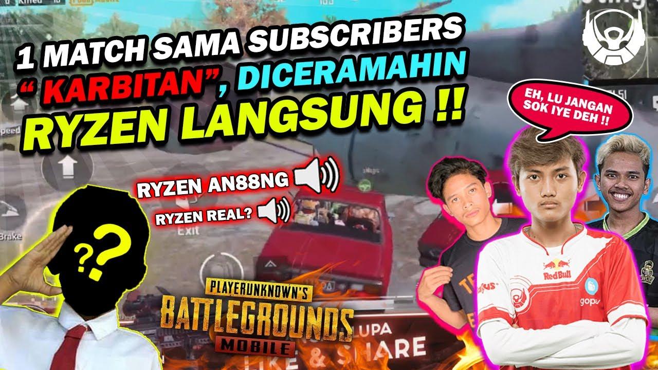 DIKIRA PALSU BTR RYZEN DIKATAIN ?! - PUBG MOBILE INDONESIA | Ryzen Gaming