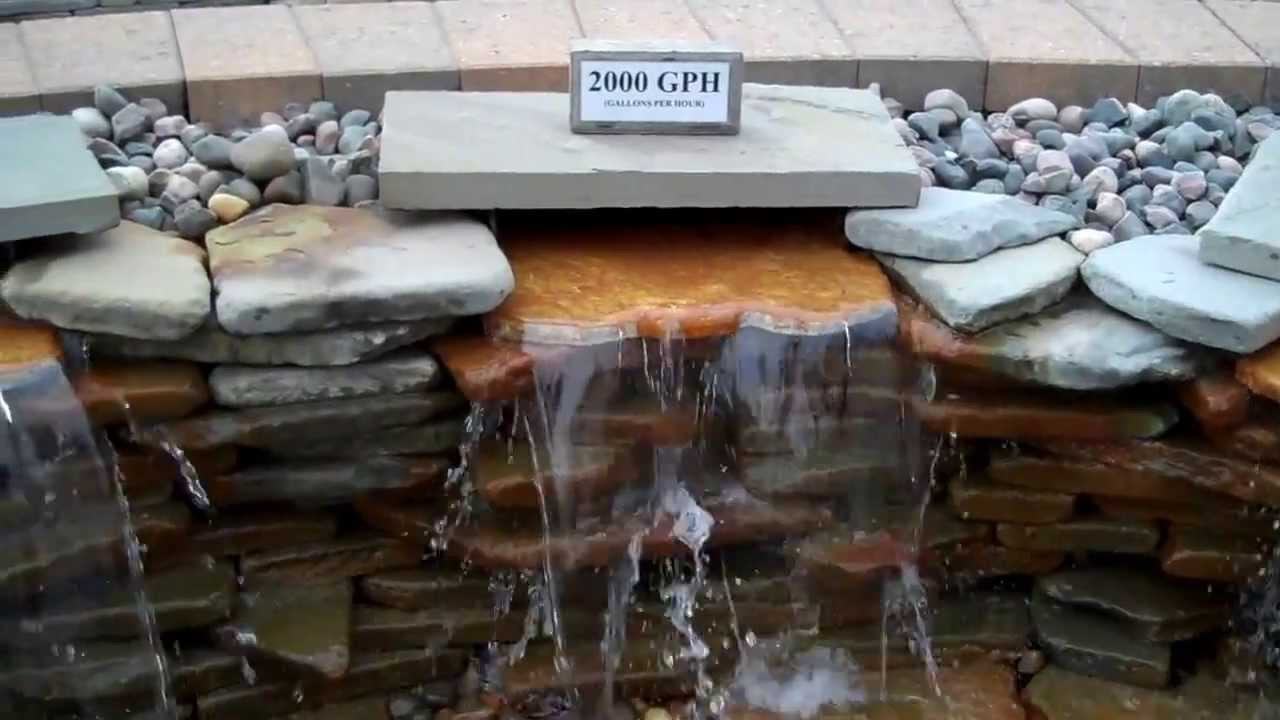 5 pump display. how to pick the right pump for your pond.