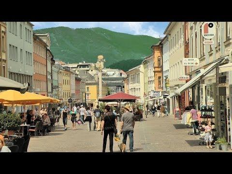 Villach, Kärnten, Österreich (Carinthia, Austria) [HD] (videoturysta)