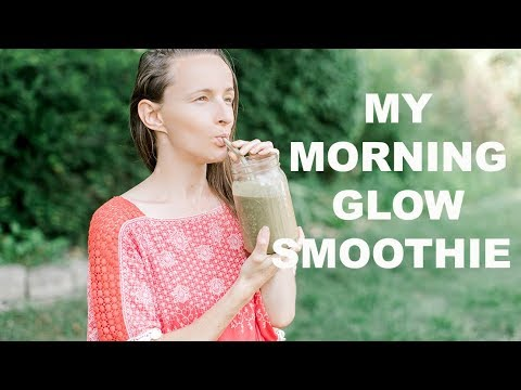 how-to-get-rid-of-adult-acne-&-balance-hormones- -my-morning-glow-smoothie