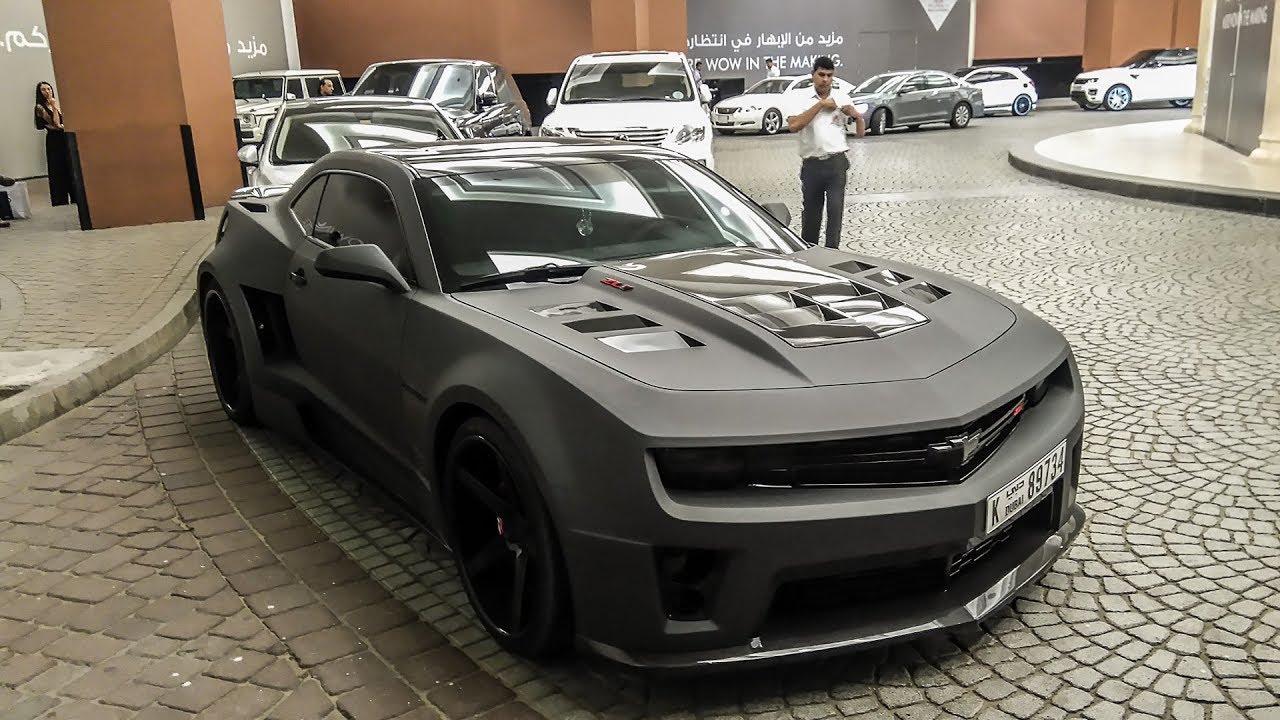 Badass Camaro Zl1 Monster Startup Cars With Robert