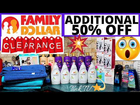 💥 OMG!! |FAMILY DOLLAR ADDITIONAL %50 OFF CLEARANCE ITEMS | HUGE CHEAP HAUL | WOW💥 CHEAP CHEAP STUFF