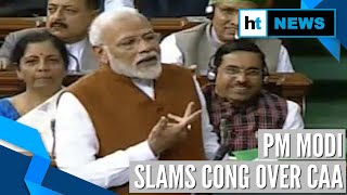 'Muslims for them, Indians for us': PM Modi slams Congress over CAA