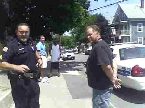 Lynn,MA Lee Gets Arrested