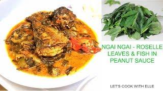 Roselle Leaves Recipe | Ngai Ngai na Thomson