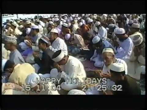 SYLHET SHAHI EIDGAH EID ZAMAT-WHIT MY LOVELY DADA-2004