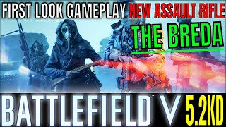 BATTLEFIELD V FIRST RUN WITH THE NEW BREDA - IS IT ANY GOOD? BF5 GAMEPLAY